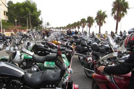 Custom & Harley Meeting. Alcossebre is gathering momentum