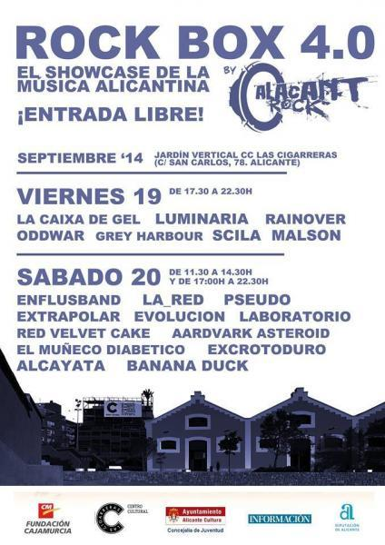 Rock Box 4.0 (by Alacant Rock) 2014