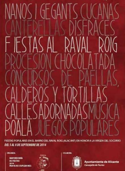 Fiestas del Raval Roig 2014