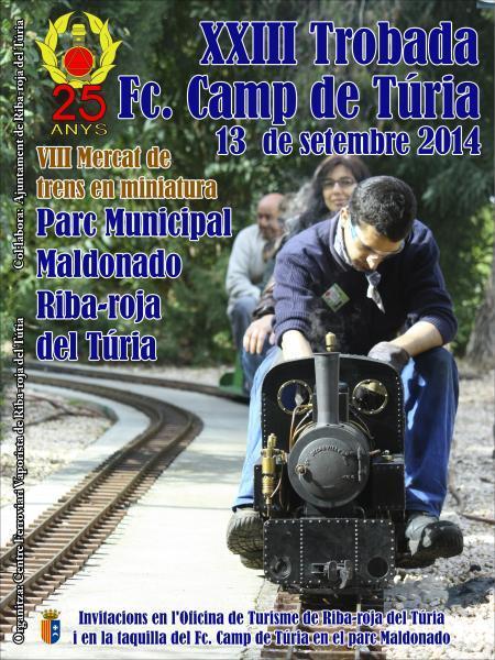 XXIII TROBADA DE TRENS FC. CAMP DE TÚRIA