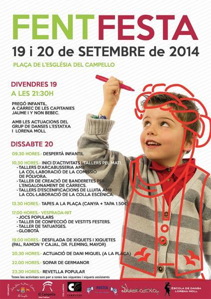 Fent Festa en El Campello. Actividades infantiles
