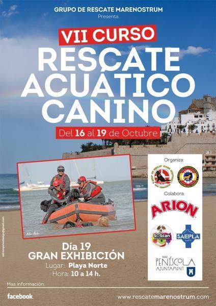 VII Curso rescate acuático canino
