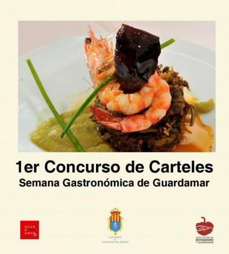 1er Concurso de Carteles de la Semana Gastronómica de Guardamar