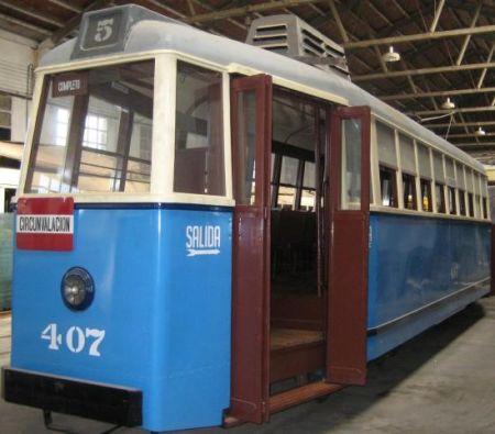 El tranvía eléctrico 1900-1970