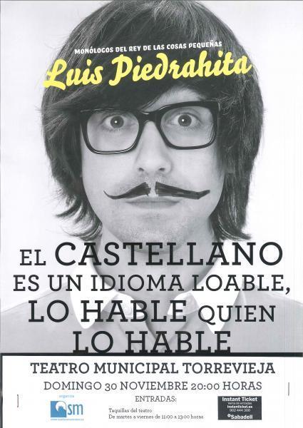 Luis Piedrahita. Humorista.