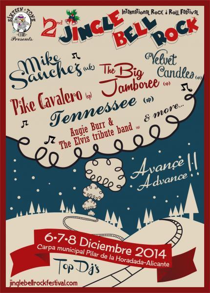 II Jingle Bell Rock Festival en Pilar de la Horadada 2014