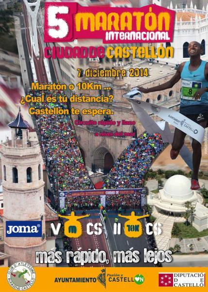 V Maratón Internacional Ciudad de Castellón 2014
