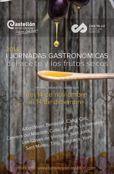 Jornadas gastronómicas del aceite y los frutos secos