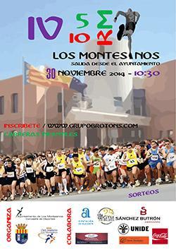 IV Carrera 10Km y II Carrera 5Km Villa de Los Montesinos