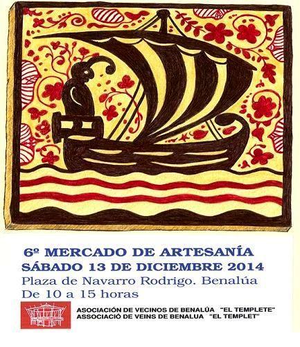 6ª Muestra y Mercado de Artesanía- BENALUARTE 2014