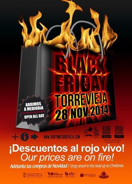 Black Friday 28 Noviembre en Torrevieja.