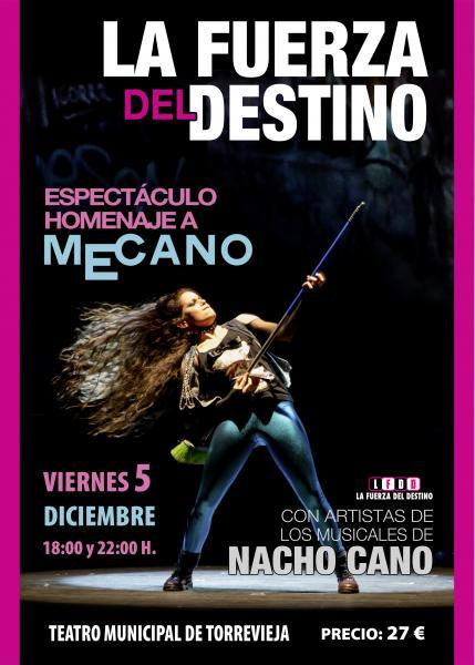 La Fuerza del Destino. Espectáculo homenaje a Mecano