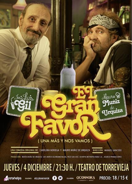 El Gran Favor. Teatro en Torrevieja