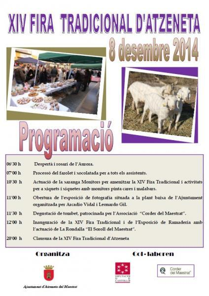 "XIV ""Fira Tradicional d'Atzeneta"" 2014"