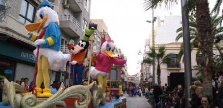 Gran Desfile Infantil en Torrevieja