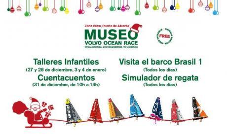 Navidad en el Museo Volvo Ocean Race 2014