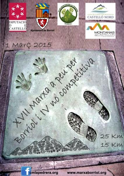 XVII Marcha a Pie por Borriol 2015
