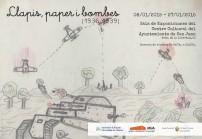"""Exposición """"Llapis, Paper i Bombes"""" de la Universidad de Alicante"""