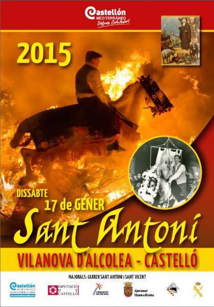 Festividad de San Antonio Abad en Vilanova d'Alcolea