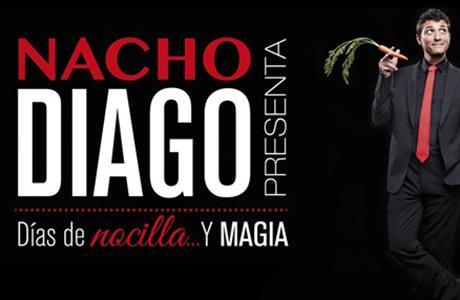 """Teatro: Nacho Diago presenta """"Días de Nocilla y magia"""""""