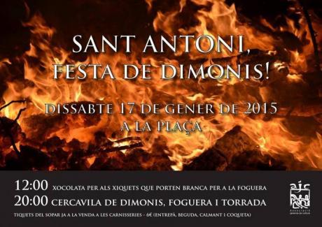 Festividad de San Antonio en La Jana
