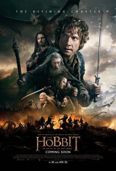 El Hobbit; la batalla de los cinco ejércitos