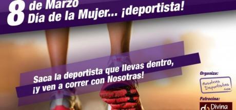 """II Carrera 8 de marzo """"Día de la mujer deportista"""""""
