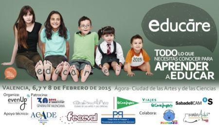 Feria EDUCARE en el Ágora de la Ciudad de las Artes y las Ciencias