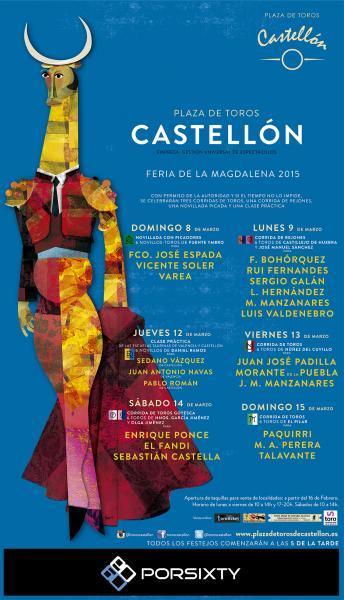 Feria taurina de la Magdalena Castellón