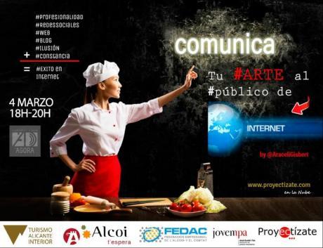 Comunica tu #arte al #público de Internet