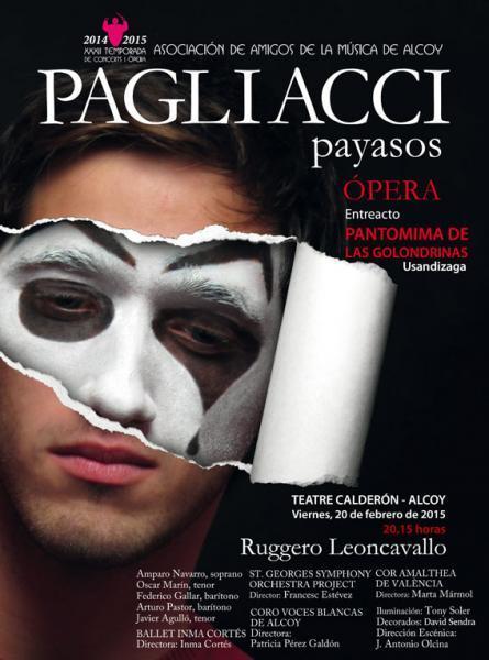 ÓPERA: Pagliacci, Ruggero Leoncavallo
