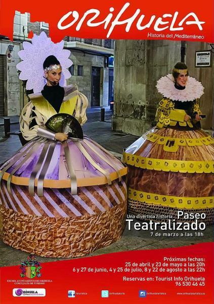 PASEO TEATRALIZADO