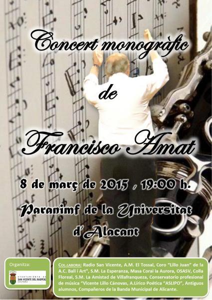 Concert monogràfic de Francisco Amat