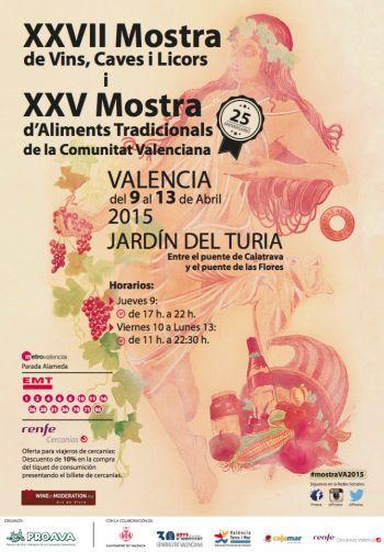Mostra de Vins, Caves i Licors - Mostra d'Aliments Tradicionals de la Comunitat Valenciana