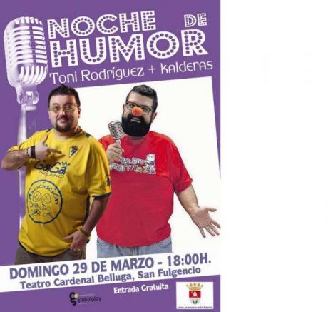 Noche de humor en San Fulgencio
