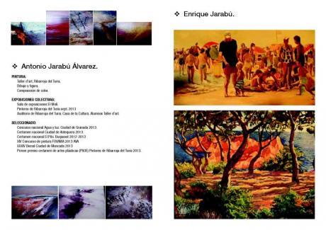 Exposición de pintura de Antonio y Enrique Jarabú