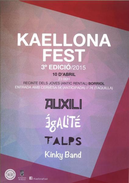 Kaellonafest de Borriol