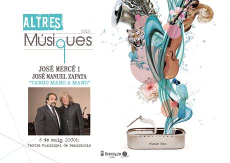 """JOSÉ MERCÉ Y JOSÉ MANUEL ZAPATA """"Tango mano a mano"""""""