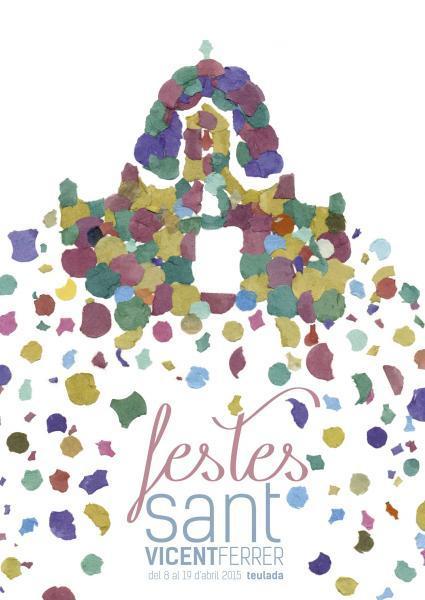 "Festivities in honour of ""Sant Vicent Ferrer"" Teulada 2015"