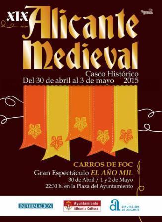 XIX Mercado Medieval Alicante 2015