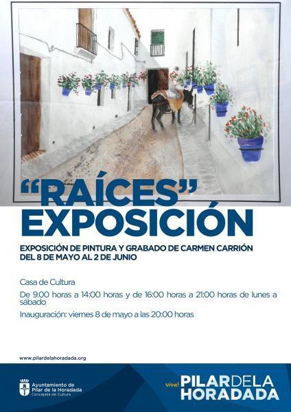 Exposición de Pintura y Grabado de Carmen Carrión en Pilar de la Horadada