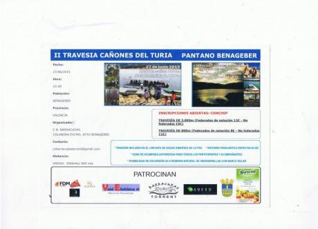 II TRAVESÍA CAÑONES DEL TURIA PANTANO BENAGÉBER