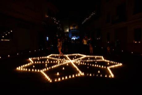 Noche de las velas Titaguas 2015