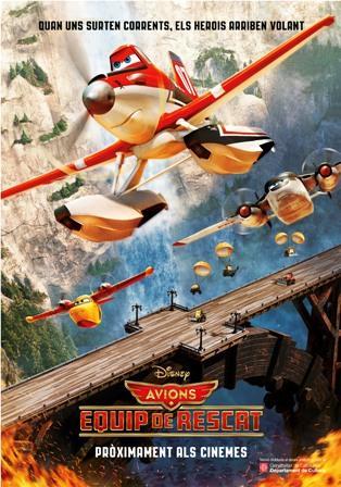 Avions, equip de rescat