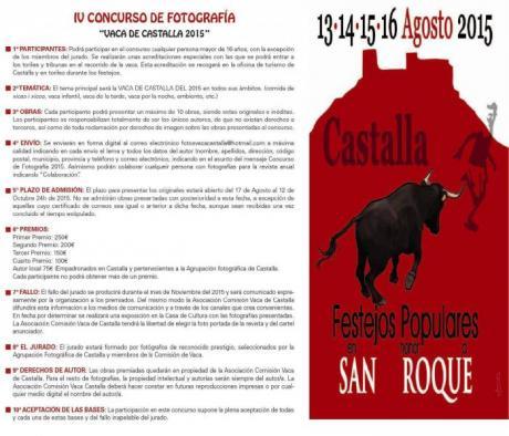 """IV Concurso de Fotografía """"VACA DE CASTALLA"""" 2015"""
