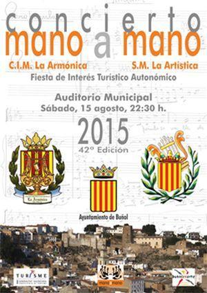 42 ª Edición del Concierto Mano a Mano 2015