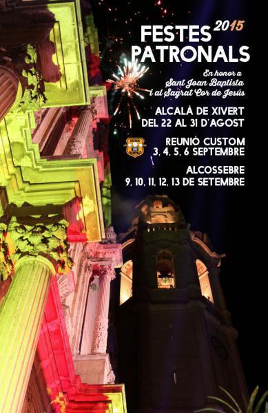 FIESTAS PATRONALES ALCALÀ DE XIVERT-ALCOSSEBRE 2015