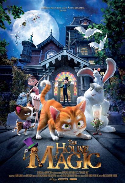Cine-Animación: La Casa Mágica