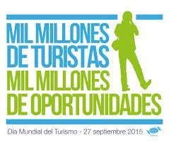 """Alicante- Día Mundial del Turismo DMT -2015. -  """"Sé turista en tu ciudad"""""""
