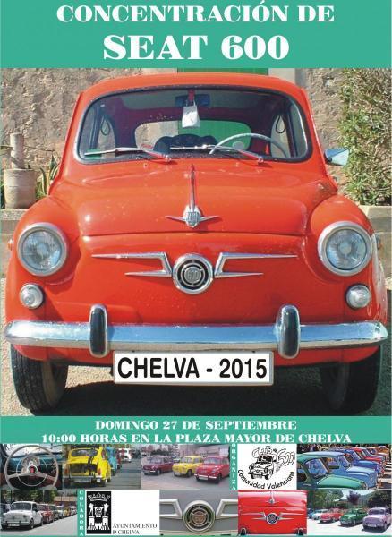 Concentración de Seat 600 -Chelva 2015